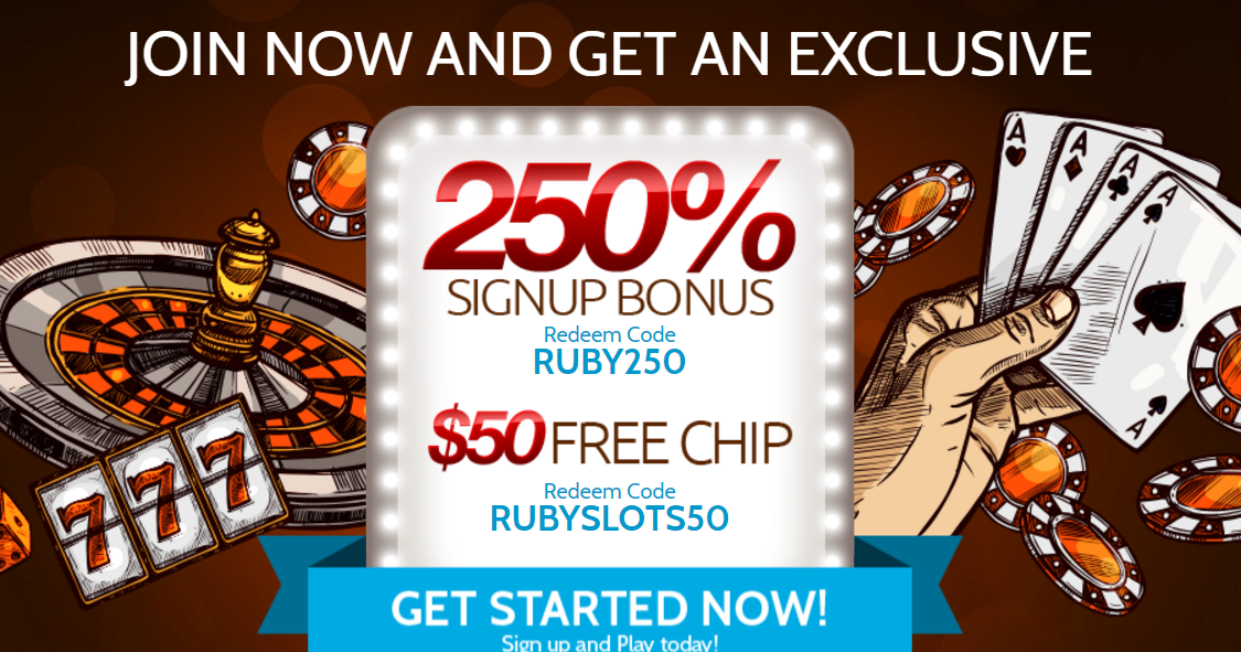 Best Ruby Slots Casino Bonus Codes 2018 Get Up To 800 High