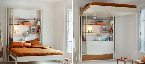 Elevator Beds An Alternative To Murphy Beds Small Space Design Space Saving Beds Loft Bed