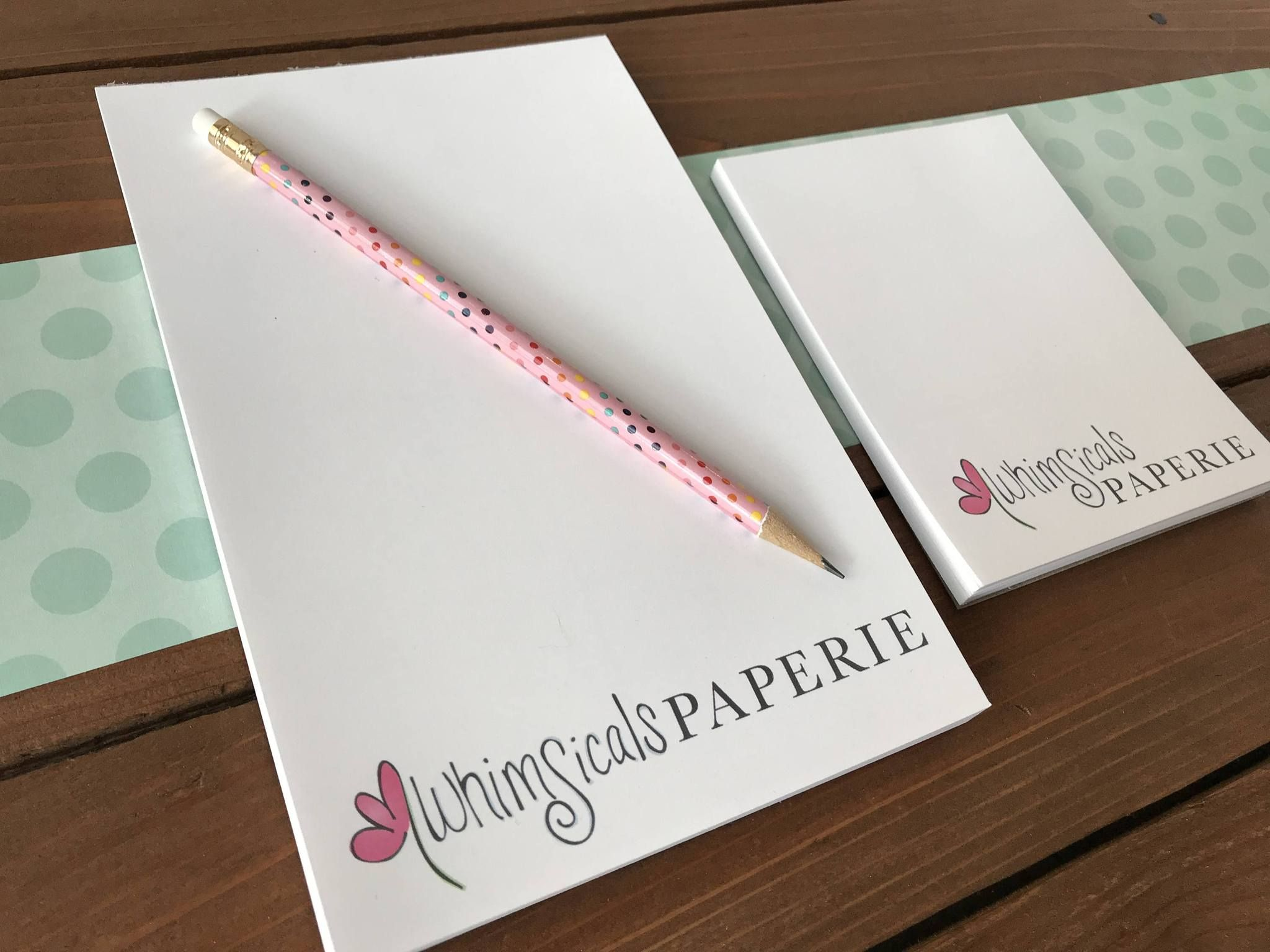 Business Logo Notepad, Your Logo on a Notepad | Business ...