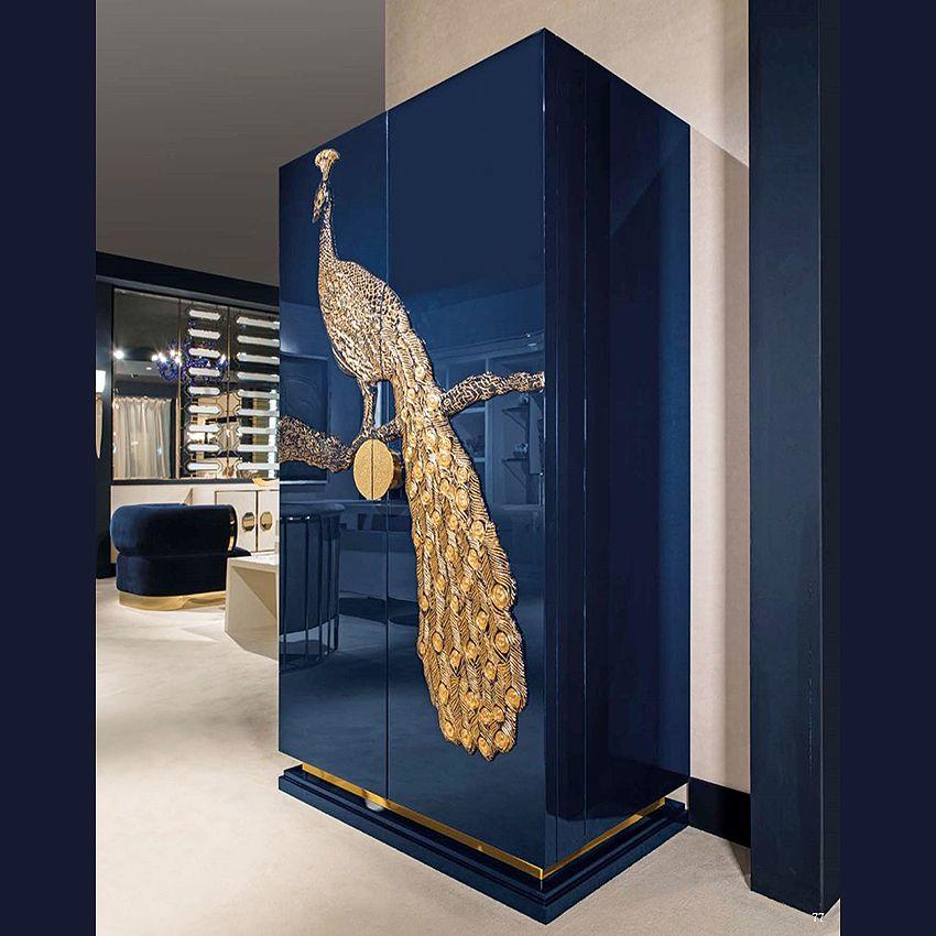 PEACOCK COCTAIL CABINET | Taylor Llorente Furniture | Blue ...
