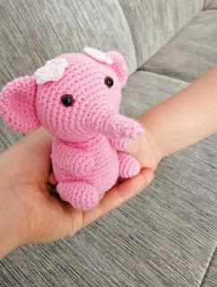 Elefante Amigurumi Crochet Paso A Paso - Patrón Escrito - YouTube | 320x242
