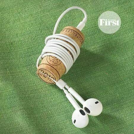 Una excelente idea para no perder tus audifonos