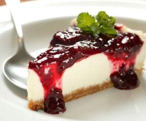 Receita Cheesecake de Frutas Vermelhas - Ver Dicas