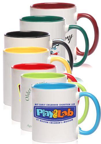 11 oz  Bright Two-Tone Sublimation Mugs | S12TT | Marketing