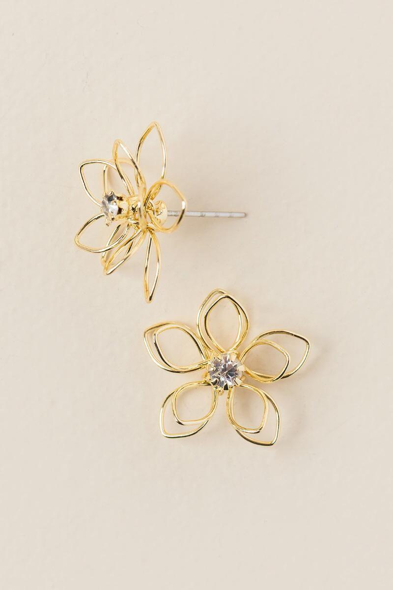 Gold Wire Flower - WIRING CENTER •