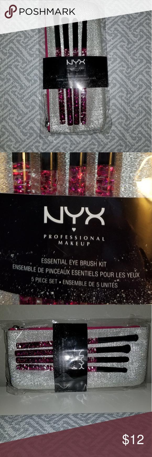 Nyx eye brush kit Eye brushes, Brush kit, Makeup tools