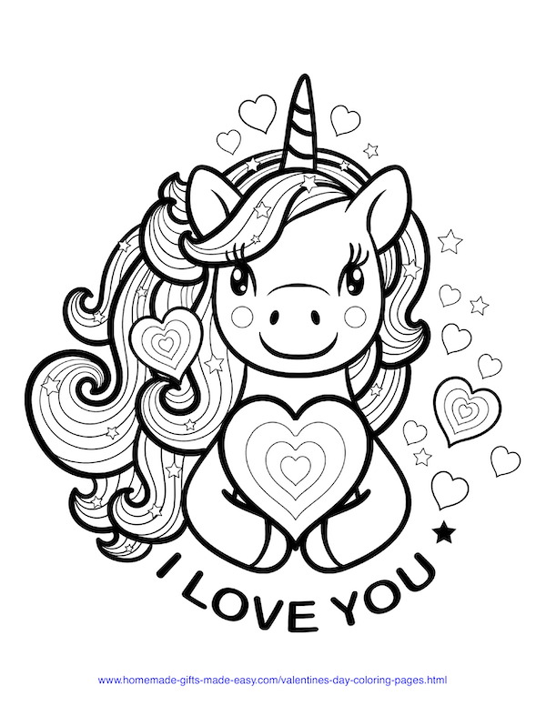 Pin On Valentine S Day Coloring Pages