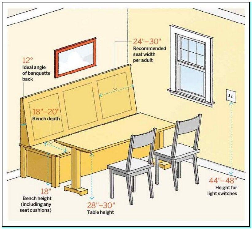 Kitchen Nook Measurements: Breakfast-nook-bench-dimensions