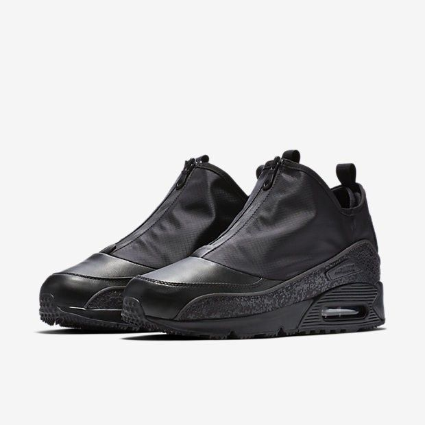 908c755a42e Nike Air Max 90 Utility Mens Black Black Dark Grey Black Cheap UK ...