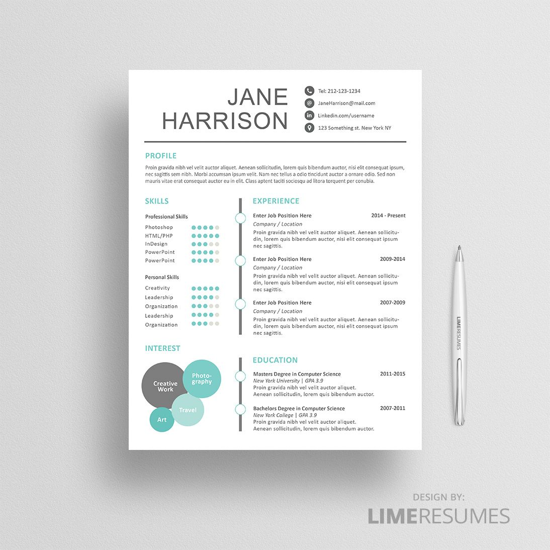 Resume Template 10 Resume Cover Letter Template Cover