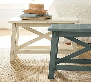 Cozy Cottage Cute Rustic Bench Coffee Table Design Modern Narrow Coffee Table