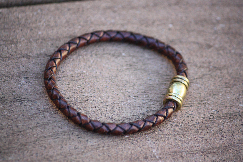 Leather Bracelet Mens Bracelet Mens Braided Leather Bracelet
