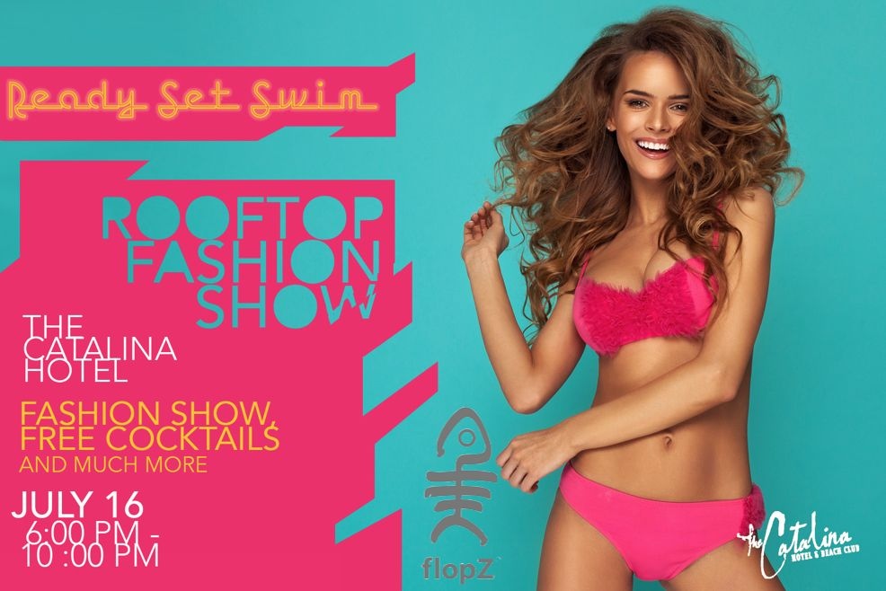 If you're in Miami you don't want to miss Miami Swim Week! A fab collab of sandals and bikinis!