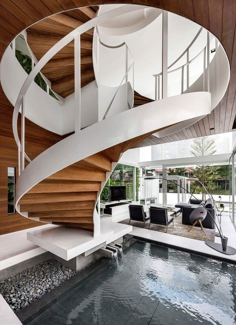Best Pin By Edward Telleria On Architect Staircase Design 400 x 300