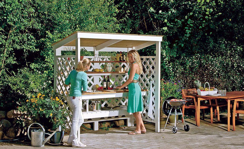 Outdoorküche Möbel Preise : Outdoorküche selber bauen garten verstauen