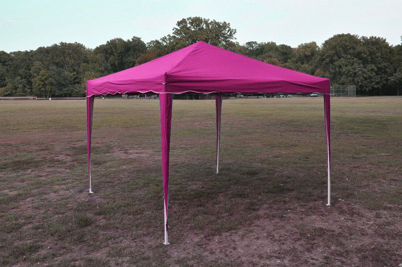 Pink 10 X 10 Pop Up Canopy Gazebo Party Tent Replacement Top Cover Only Ebay Gazebo Tent Beach Canopy