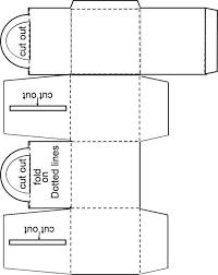 Resultado De Imagem Para Cupcakes Box Template Box Templates Printable Free Cupcake Boxes Template Box Template