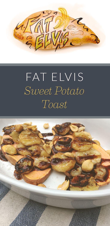 Fat Elvis Sweet Potato Toast