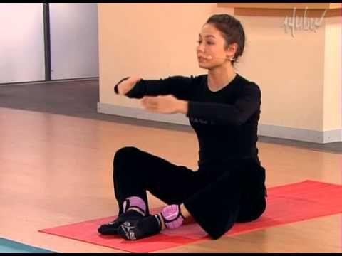 4 упражнения для похудения видео
