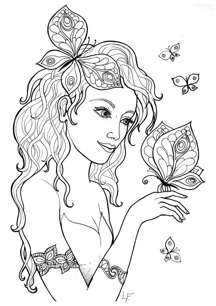 Beautiful Coloring Page Fairy Coloring Fairy Coloring Pages Star Coloring Pages