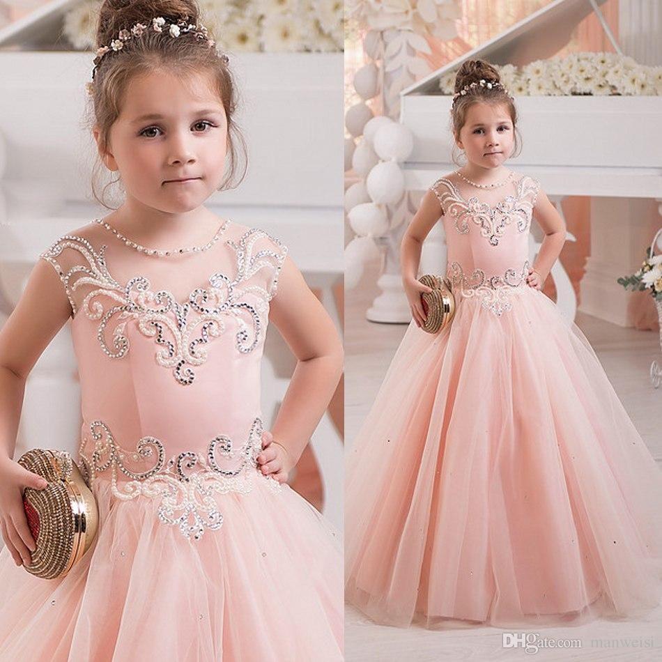 Flower girl dress, princess flower girl dress, lovely | girls ...