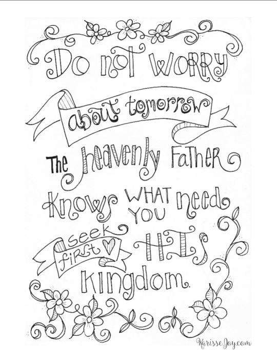 Free Christian Coloring Pages for Adults - Roundup | Quote ...