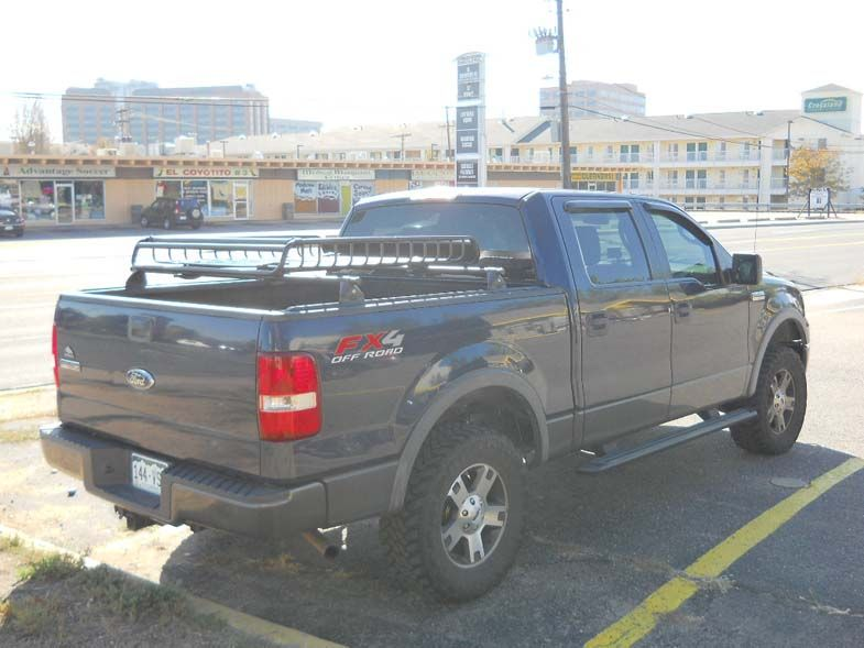 Ford F 150 Bed Rail Rack With Cargo Basket Install Ford F150