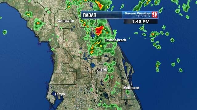 orlando radar weather map Orlando Doppler 9 Hd Radar Livestream Www Wftv Com Interactive orlando radar weather map