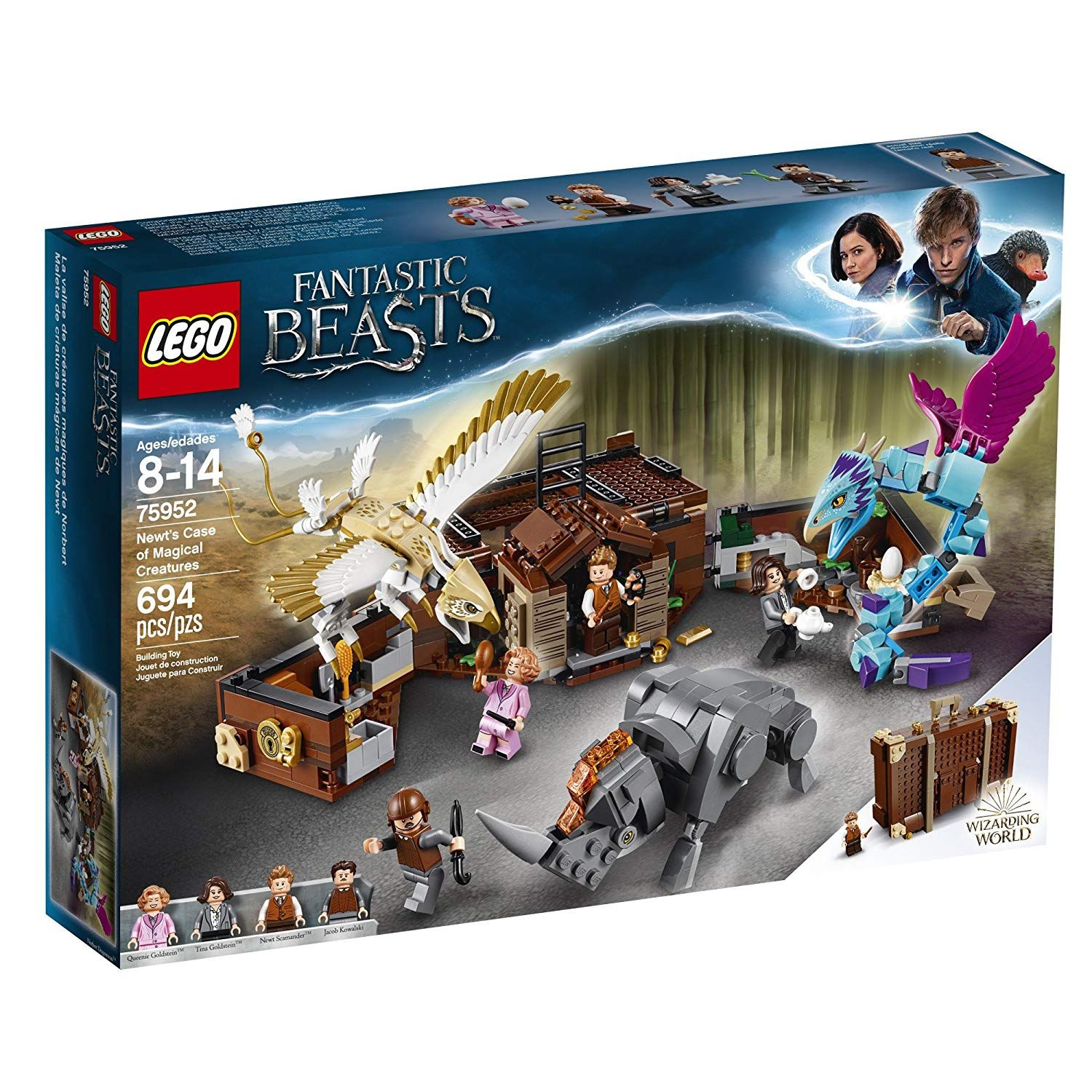 What S Not To Love Lego Fantastic Beasts Newt S Case Magical Creatures Toys Games From A Harry Potter Toys Magical Creatures Magical Creatures Harry Potter