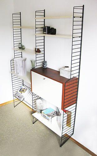string wall unit nisse strinning regal xl standleitern tomado eames panton ebay home. Black Bedroom Furniture Sets. Home Design Ideas