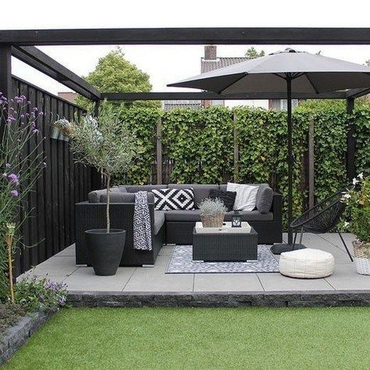 ✔ 56 beautiful small garden design for small backyard ideas 50