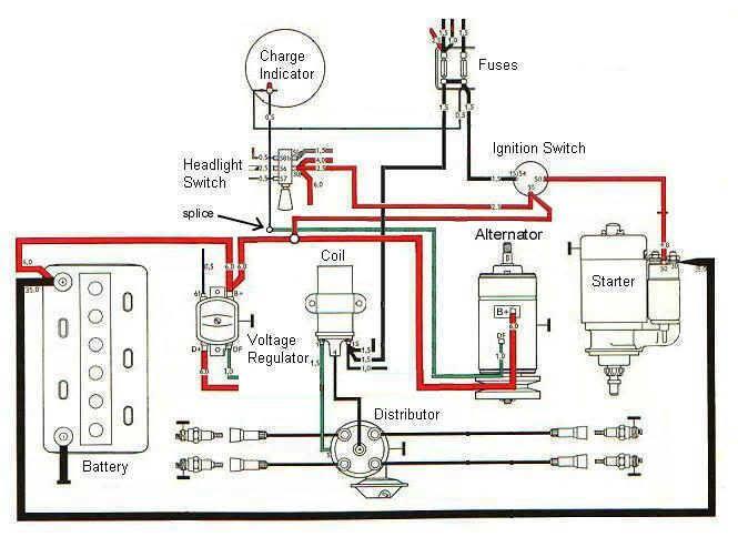 Alternator Wiring   Volkswagen   Truck repair, Engine