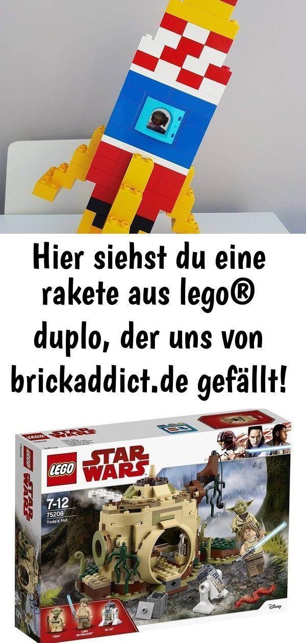 Photo of Hier siehst du eine rakete aus lego® duplo, der uns von brickaddict.de gefällt…