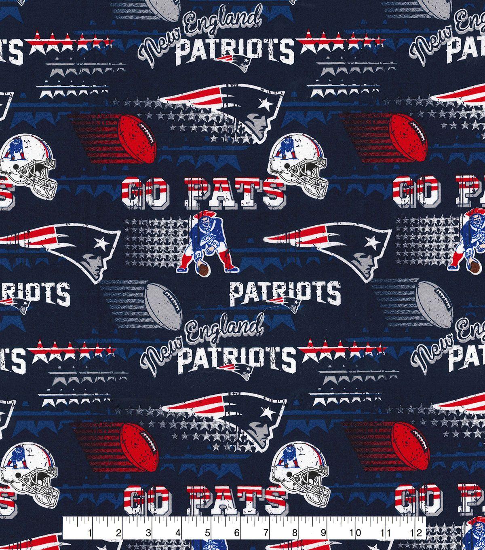 Nfl New England Patriots Retro Cotton Joann Nfl New England Patriots New England Patriots Patriots