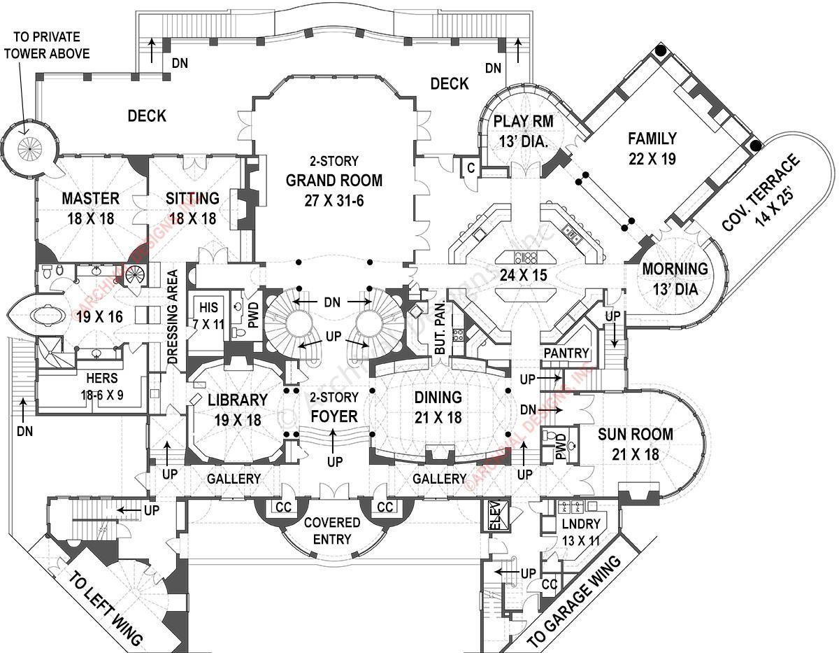 Balmoral House Plan
