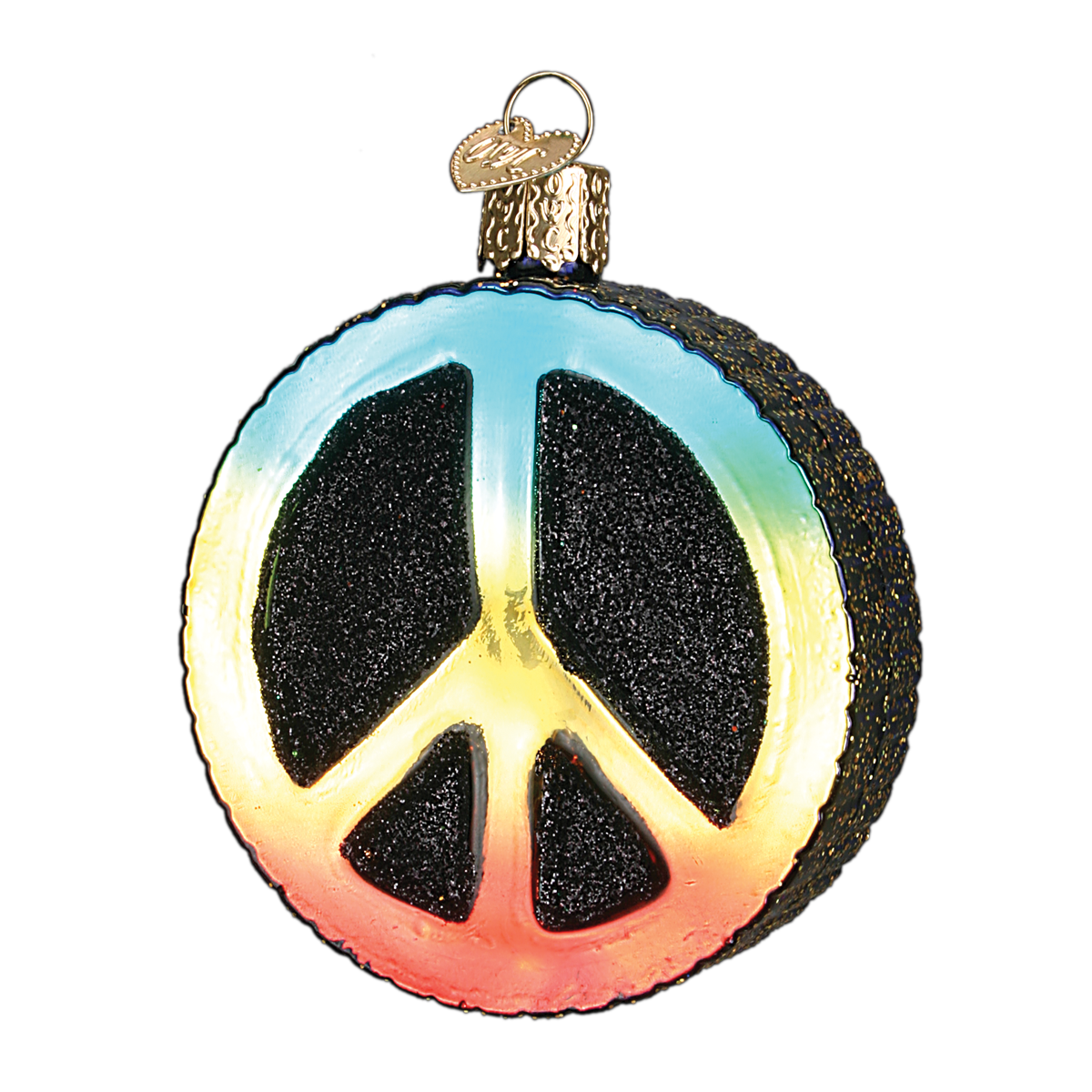 Peace sign item 36152 by old world christmas the peace symbol peace sign item 36152 by old world christmas the peace symbol was biocorpaavc Choice Image