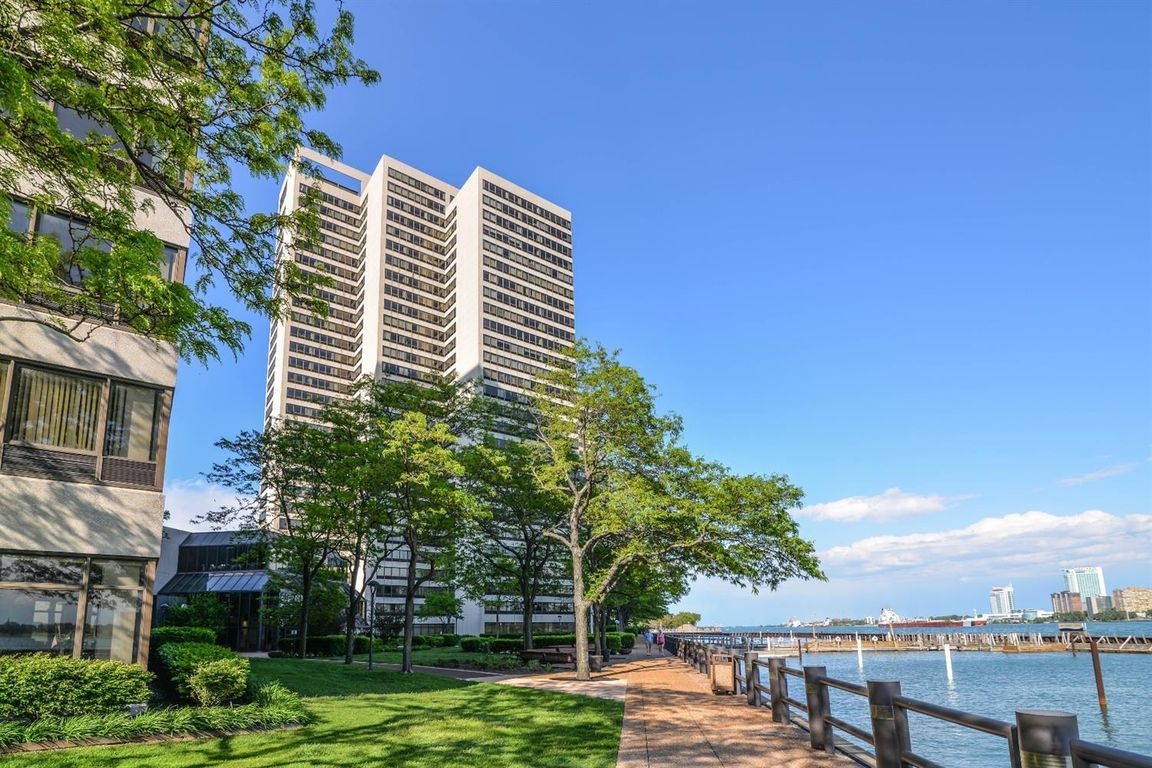 Luxury riverfront condominium with full views of the