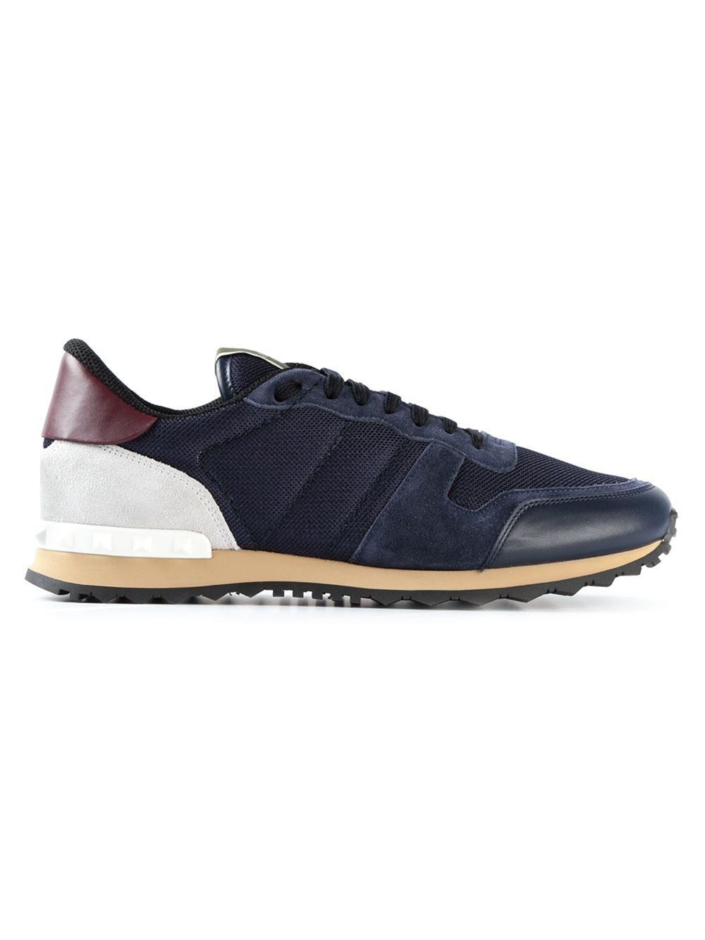 24a90dcb1 Shop the latest men's designer Shoes at Farfetch now. Valentino Garavani  'rockrunner' Sneakers - Papini - Farfetch.com