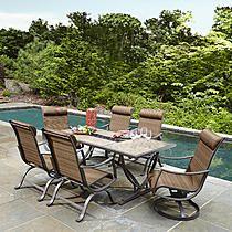 Ty Pennington Style Palmetto 7pc Patio Dining Set Outdoor Pool