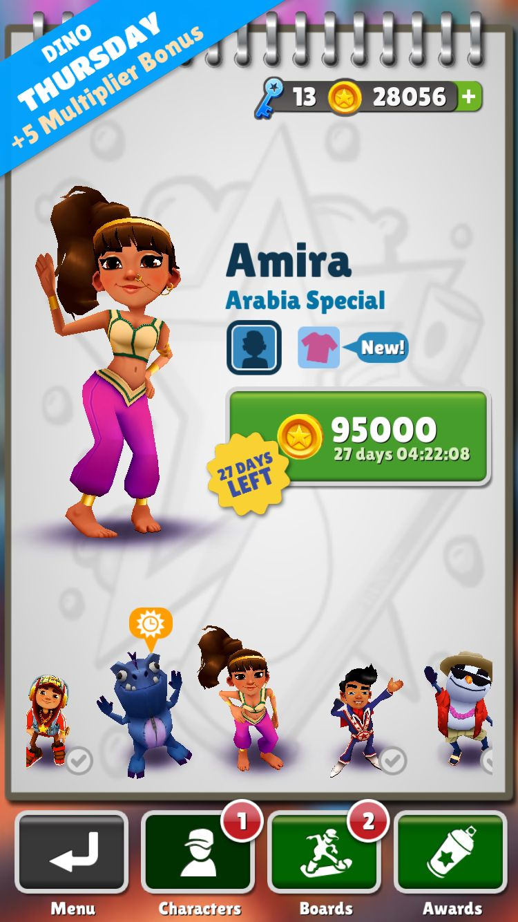 mod apk subway surfers arabia