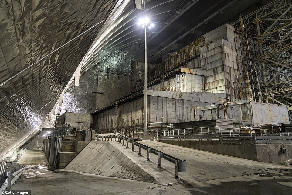 Chernobyl Nuclear Confinement Shelter Has Media Preview