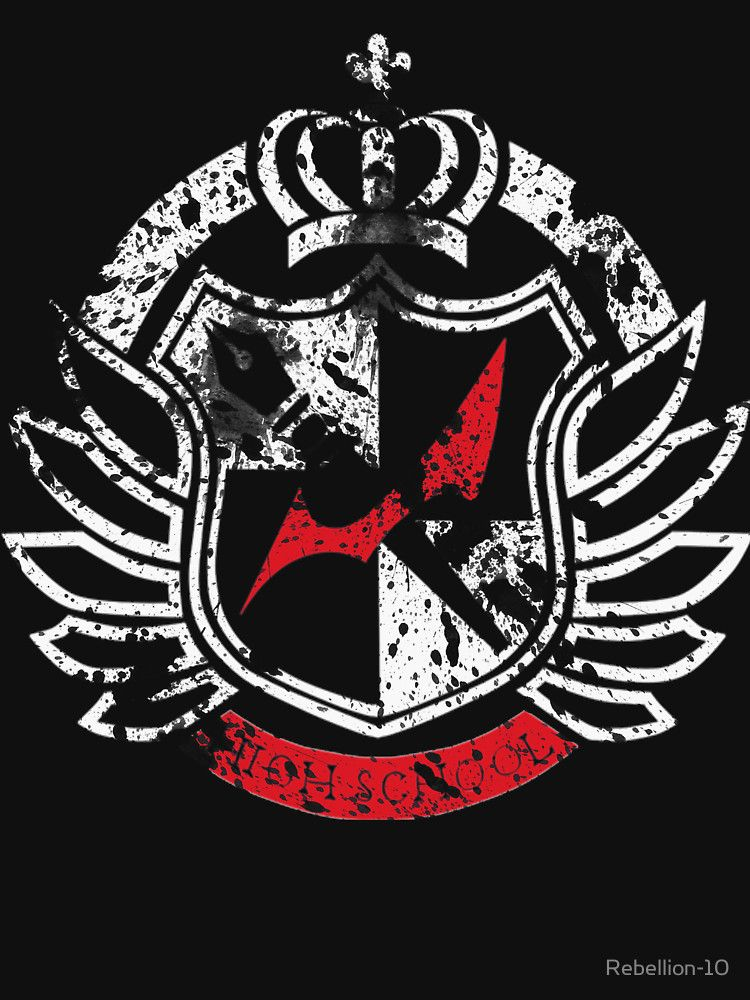 the logo of hope's peak academy from the anime,games and