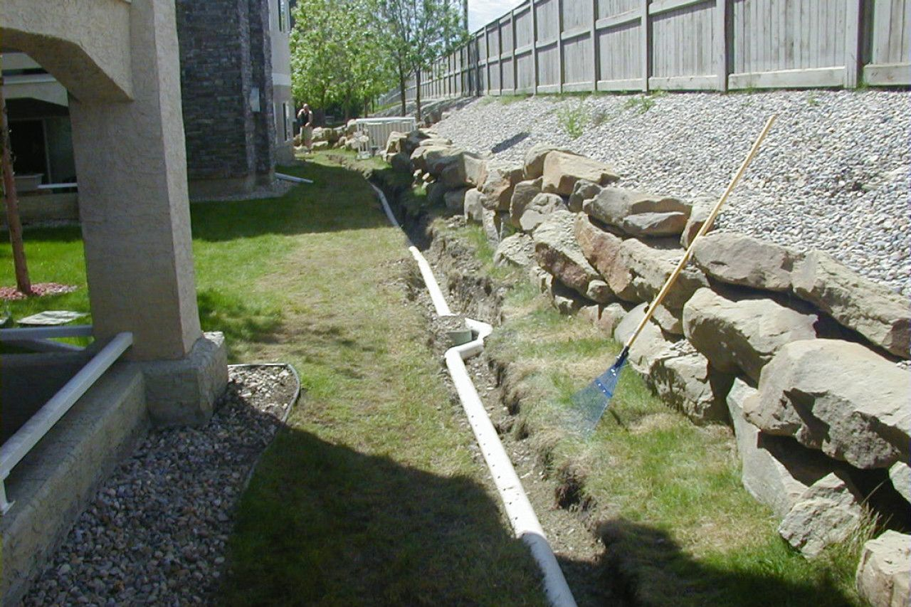 French Drain And Curtain Drain Design What You Need To Know