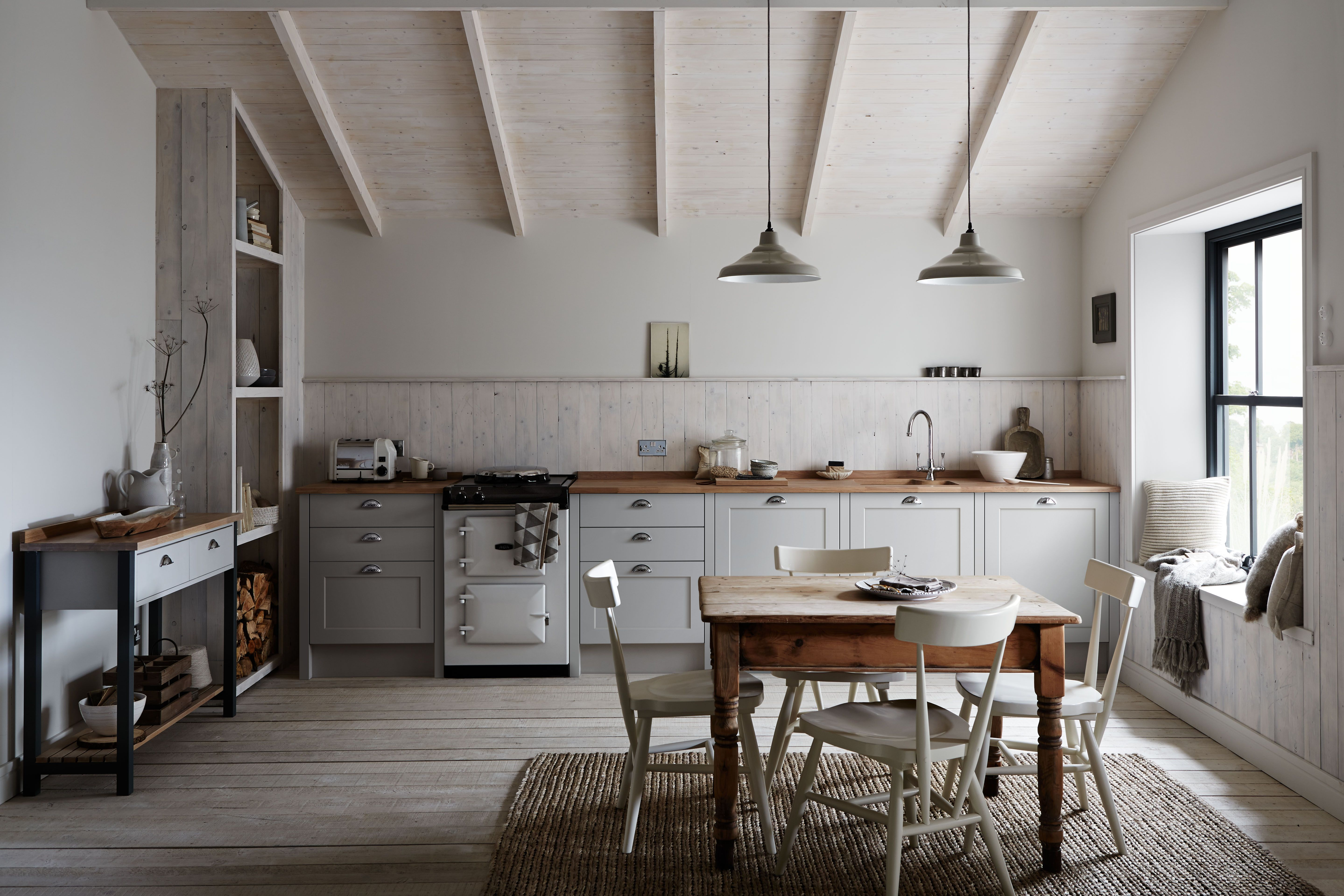 The Allendale Dove Grey Kitchen From The Shaker Collection By - Dove grey kitchen units