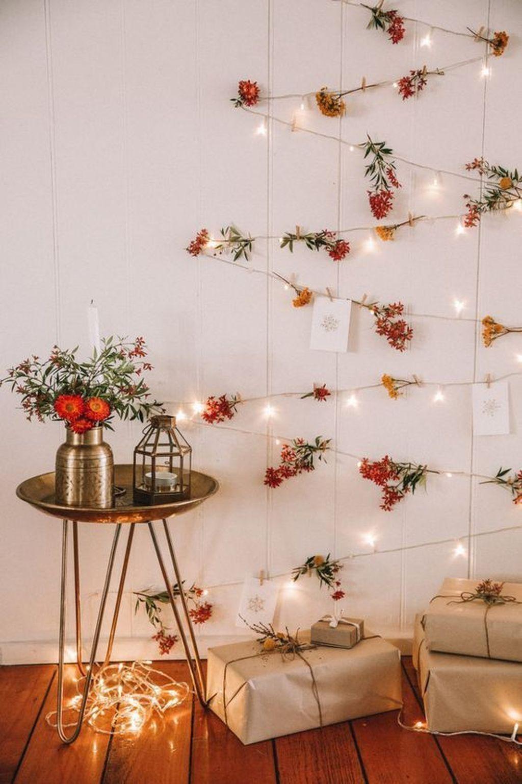 30+ Pretty DIY Fairy Light Ideas For Minimalist Bedroom ...