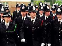 ❏ Police graduates in full uniform