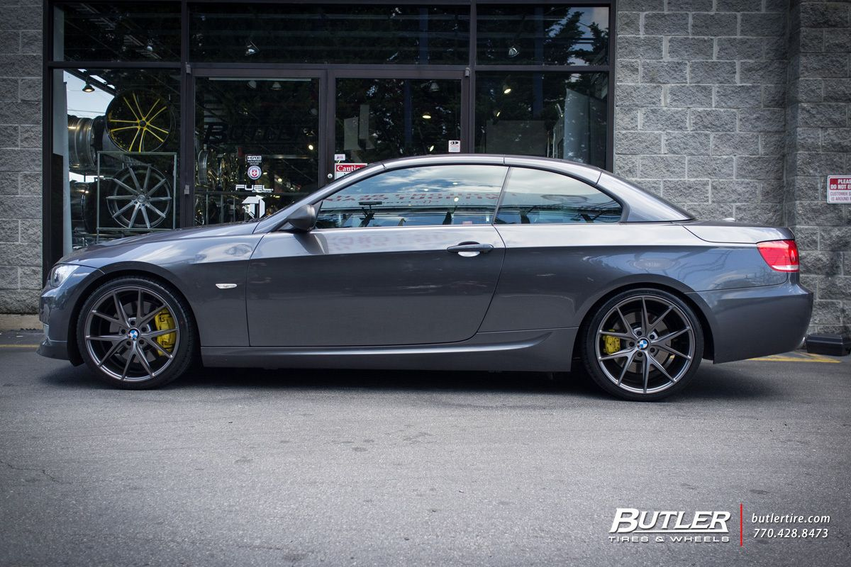 Bmw 3 Series With 19in Niche Misano Wheels With Images Bmw