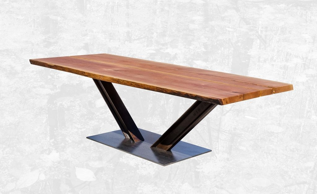 Contemporary Hardwood Dining Tables Handcrafted Dining Table