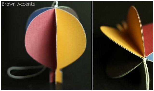 hot air balloon by elyzabethbrown, via Flickr