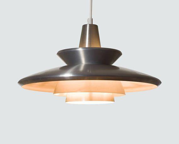 scandinavian modern lighting vintage